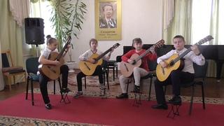 Квартет гитаристов из Могилева в конкурсе Гитарная концентрация-5