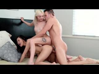 Jasmine Grey and Chloe Temple - Americas Sweethearts [All Sex, Hardcore, Blowjob, Threesome]