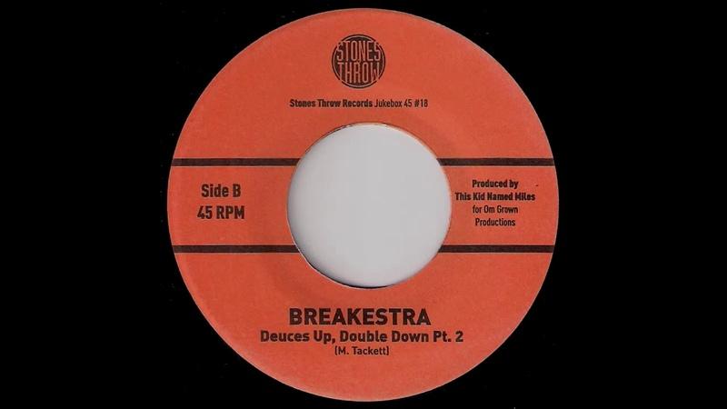 Breakestra - Deuces Up, Double Down Pts 1 2 [Stones Throw] 2001 Deep Funk Revival 45