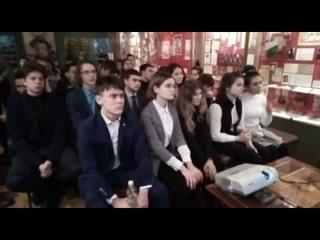 Школьникам рассказывают о Герое Советского Союза. Подробности в ближайшем выпуске новостей