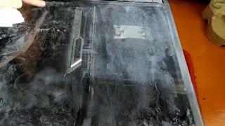"""корпус покрыт """"мыльной"""" пылью из-за  PALIT RTX 2070 SUPER JS"""