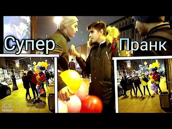 Узбек йигитлари шарлар билан СУПЕР ПРАНК 2