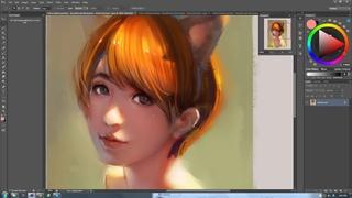 China Digital painting - Beautiful girl illustration - Artist peterxiao 2