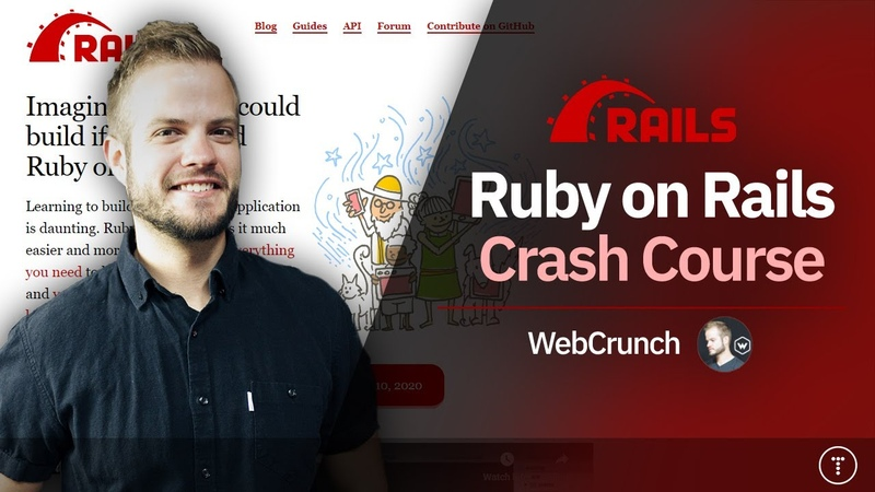 Ruby On Rails Crash Course 2020
