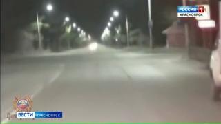 В Сосновоборске устроили погоню за водителем