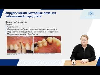 Хирургические методики лечения заболевании пародонта