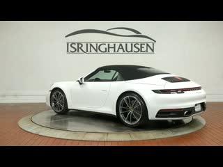 2020 Porsche 911 Carrera Convertible in Carrara White Metallic - 251226