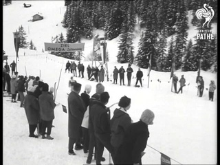 More Skiing - Ladies Downhill Slalom Event (1961)