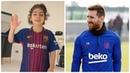 7-летний мальчик ПОРАЗИЛ МЕССИ своими скиллами! Арат Хоссеини в Барселоне Инсайд Новости футбола