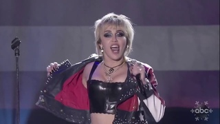Miley Cyrus at Dick Clark's New Year's Rockin' Eve 2021 - Party In The USA