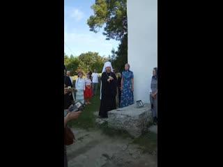 Проповедь владыки Тихона 24 июля, Выбуты