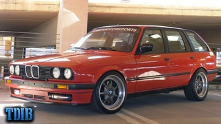 500HP 1JZ BMW E30 Wagon! The ULTIMATE Grocery Getter!
