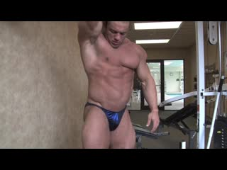 [720]  LUKAS D PHOTO SHOOT 2013 #2 (Pumping Muscle) (Wrestling)