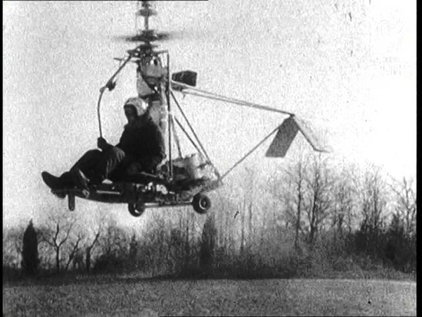 Selected Originals One Man Helicopter 1956