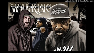 MC Eiht ft. B-Real, Daz Dillinger - walking soldiers (prod. insane beatz)