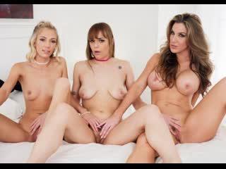 Kayla Paige, Sailor Luna, Sky Pierce - Brunette, Babe And MILF Lesbian Threesome   Spizoo