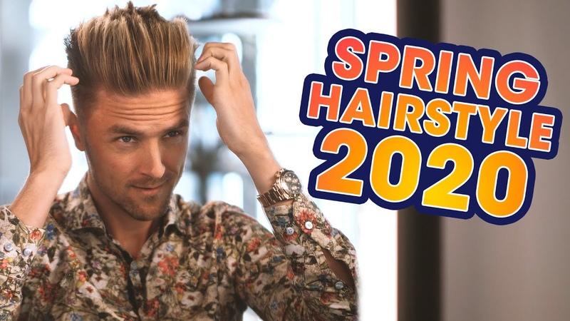 Voluminous Quiff Undercut Men's Spring Hairstyle 2020