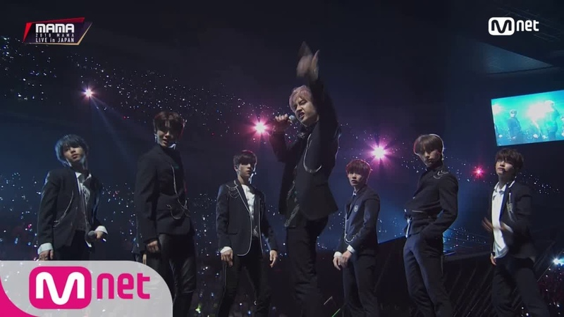 Stary Kids Overdose Growl EXO│2018 MAMA FANS' CHOICE in JAPAN 181212