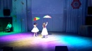 Песня Дождь опять гуляет по крышам в исполнении Миланы и Николь Евдокимовых