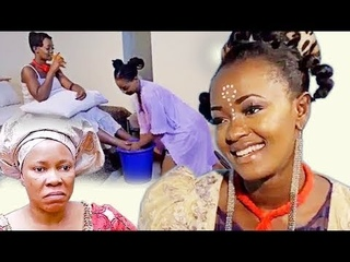 MY WICKED SISTER NOW WASHES MY FEET   LATEST MOVIES NIGERIAN NOLLYWOOD  Fettish feet worship femdom
