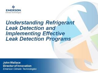 E360 Webinar 15: Understanding Refrigerant Leak Detection