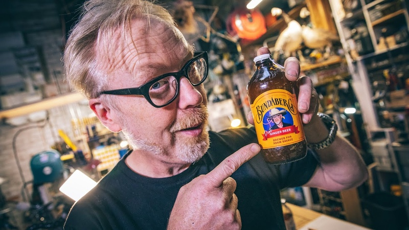 Adam Savage's Custom Ginger Beer Bottle
