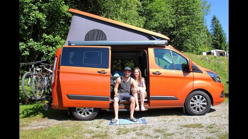 Mit dem Ford Transit Nugget zum Biken nach Österreich Roadtrip Campervan VLOG