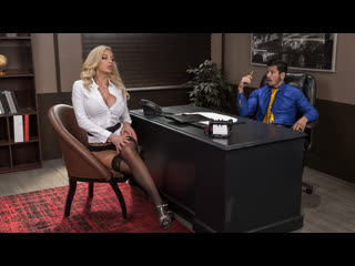 Nicolette Shea - Boss For A Day   All Sex MILF Big Tits Blowjob Titty Fuck Doggystyle Cowgirl Porn Порно