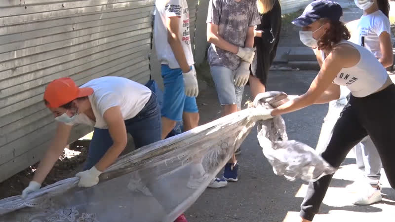В Туапсе начали свою работу молодежные трудовые бригады