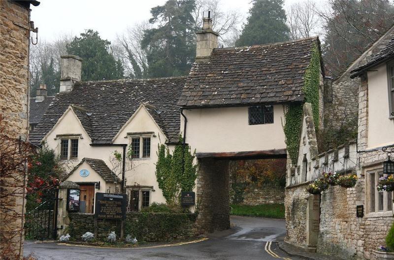 Касл Ком - самая красивая деревня в Англии!, изображение №9