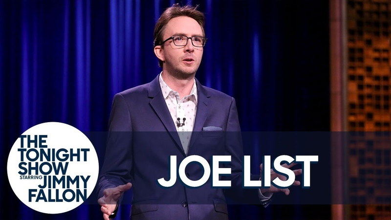 Joe List Stand Up