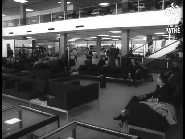 New 'schiphol' Airport Opens Amsterdam 1967