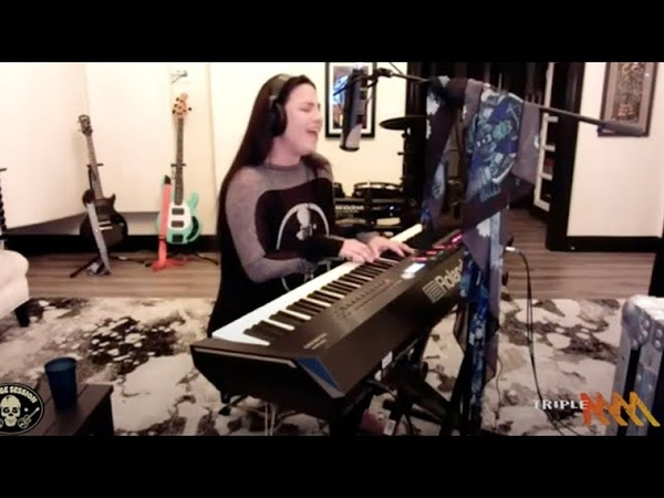 Amy Lee From Evanescence Performs 'Wasted On You' For Triple M's Garage Session June 2020 Triple M