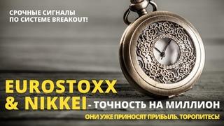 Горящие прогнозы EuroStoxx Nikkei - они уже приносят прибыль, торопитесь! Получите полный🔥 комплект!