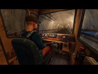 Rust - Подземные тоннели и поезда! Первый обзор!