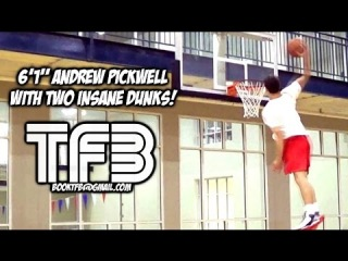 """6'1"""" Andrew Pickwell with Two INSANE DUNKS! Dunk of the Day"""