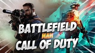 Battlefield против Call of Duty