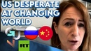 Anti-China🇨🇳, Anti-Russia🇷🇺 Sentiment Shows US' DESPERATION At Changing World Clare Daly MEP