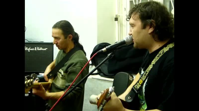 КлондайК Брось гитару репетиция перед премьерой 23 11 2010