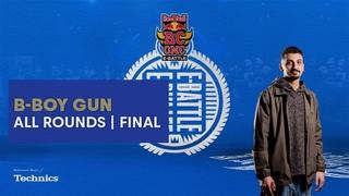 B-Boy Gun | All Rounds | Red Bull BC One E-Battle Final 2020