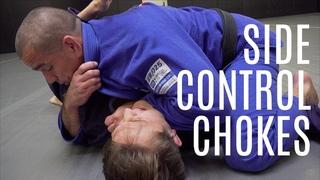 BJJ Techniques   Multiple Side Control Chokes   CVBJJ Online