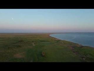 Озеро Яровое. Дикий берег, вечер.