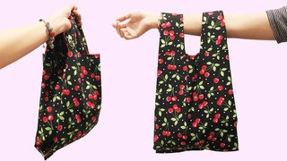 (New🔥🔥🔥Easier Way) How to Make Reusable Shopping Bags | DIY fabric shopping bags