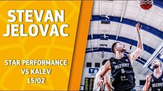 Legendary Star Performance. Stevan Jelovac @ Kalev - 49 points & 55 efficiency (VTB League records)