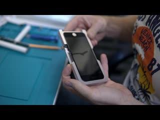 Замена переднего и заднего стекла iPhone 8