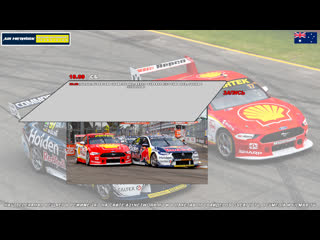 Virgin Australia Supercars Championship: Repco SuperSprint The Bend, Гонка 1,  [A21 Network]