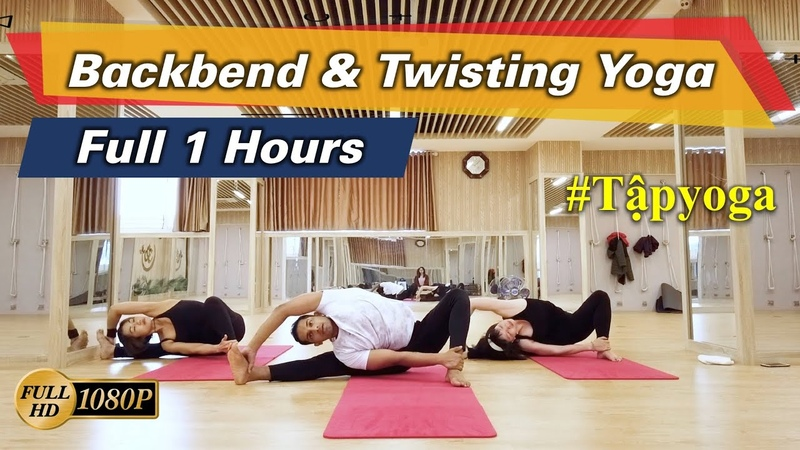 Full 1 Hours Yoga Class For Home Yoga Practitioner Based On Backbend and Twisting Yogasana | Yograja