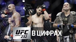 UFC 232 в цифрах: Джон Джонс, Аманда Нунес, Карлос Кондит и другие