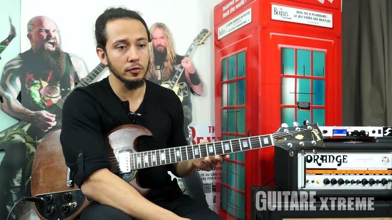 Harun Demiraslan Trepalium Boogie metal guitar lesson Guitare Xtreme Magazine 69