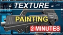 Blender 2.82 : 3D Texture Painting (In 2 Minutes)
